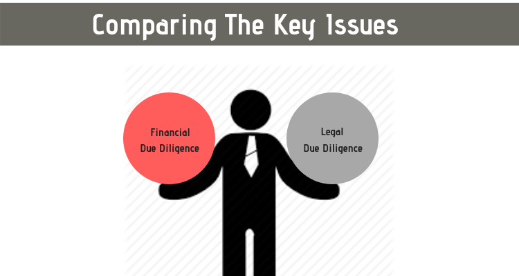 Comparing the Key Issues in The Financial And Legal Due Diligence