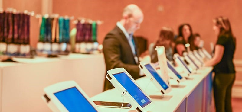 How iPad hire is beneficial for business events