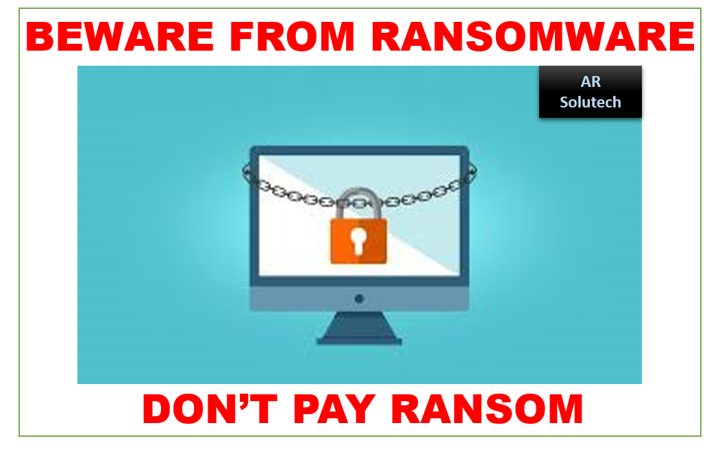 know about ransomware